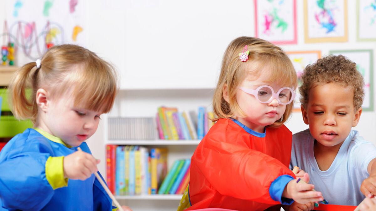 Kindergarten öffnen
