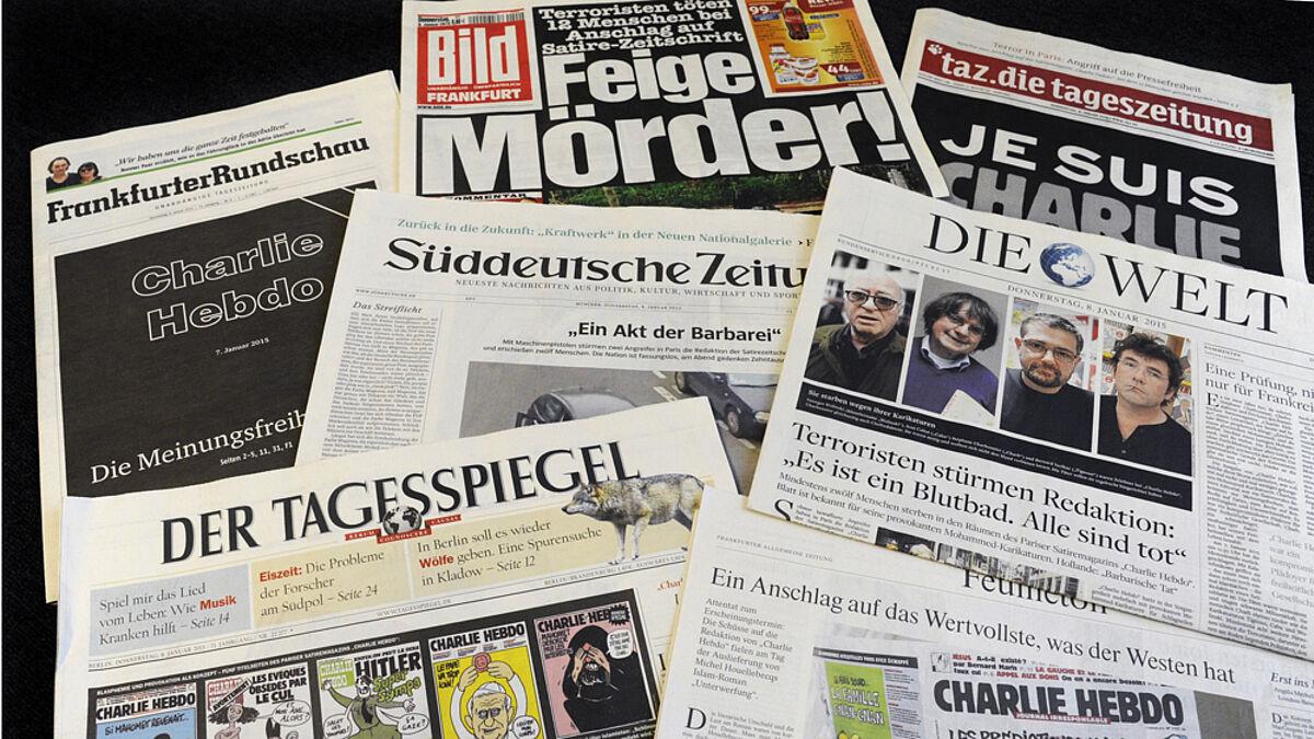 Deutsche Medien Solidarisieren Sich Mit Charlie Hebdo Nordkirche De